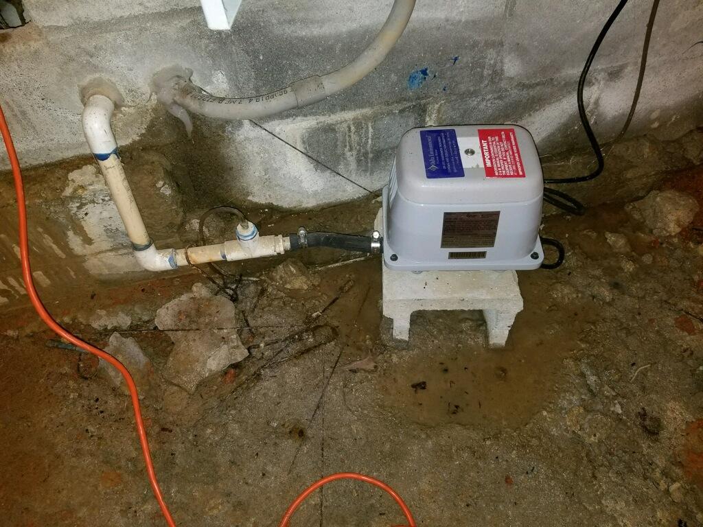 Improper Foundation Sealing - Peachtree City, GA