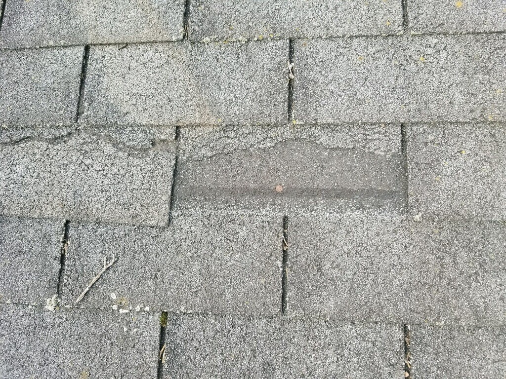Damaged / Deteriorated Shingles