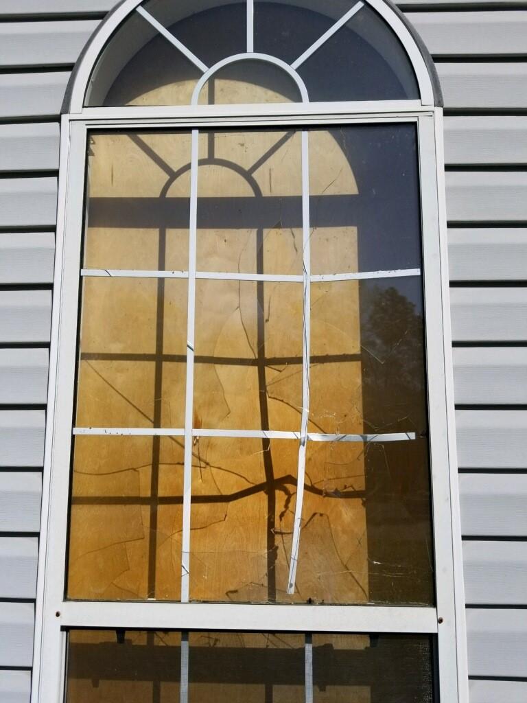 Broken Bedroom Window