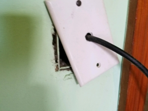 Unsecured Cable Receptical Cover - Barnesville, GA