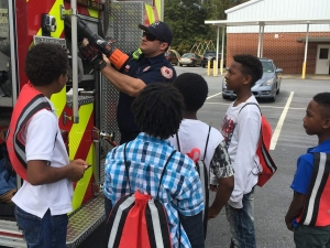 Elementary School Fire Dept. Event